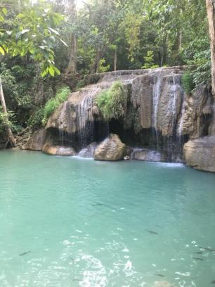 Kanchanaburi, Erwan Waterfalls